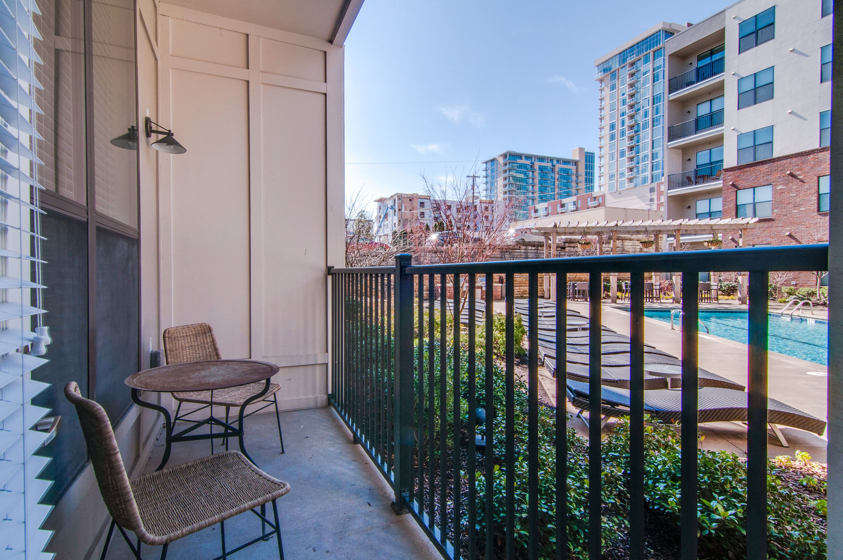 the gulch nashville apartment patio - Apartment Patio
